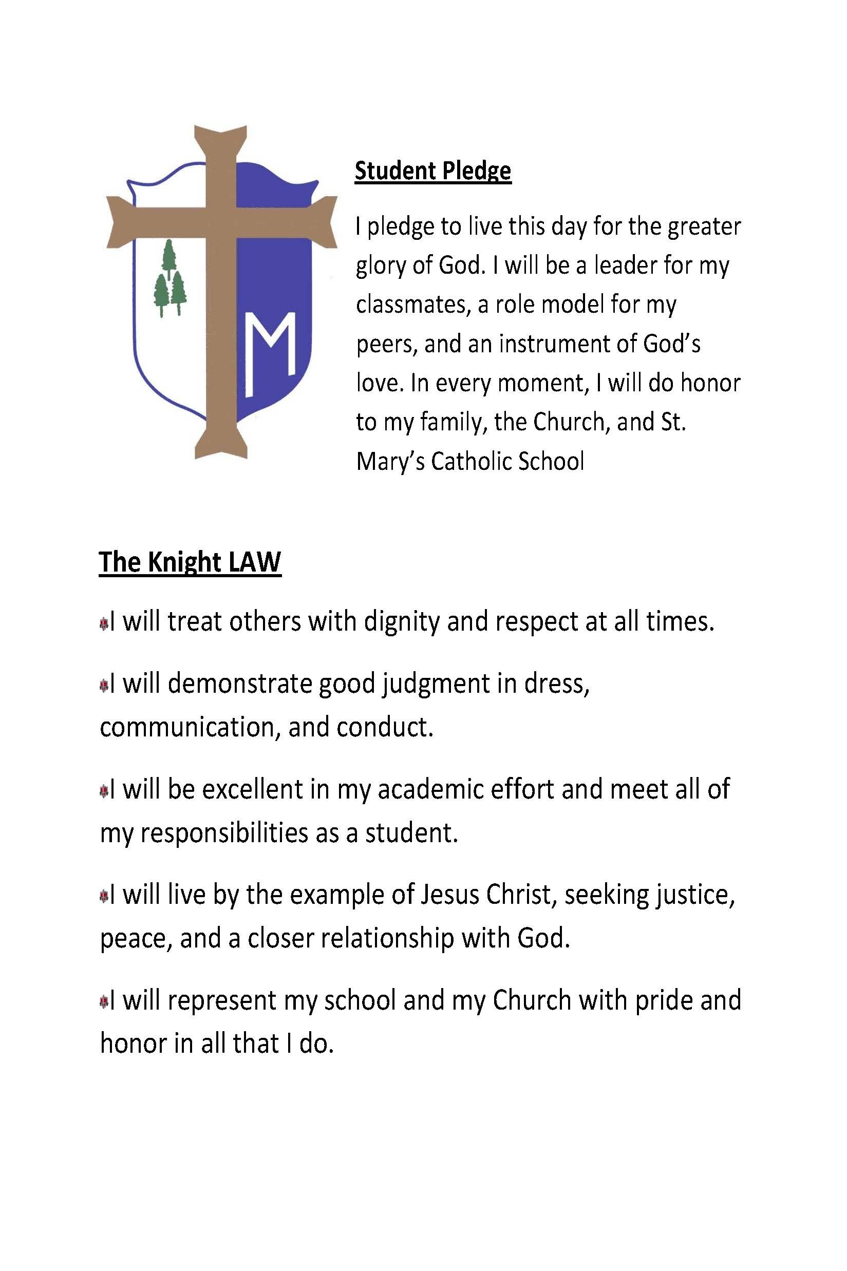 pledge and law